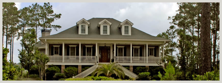 Msp custom homes inc lowcountry cottage for Low country house plans